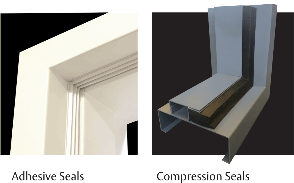 Adhesive Seals vs Compression Seals