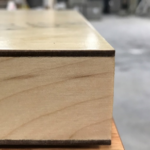 Rotary White Birch with Clear Stain (MDF)