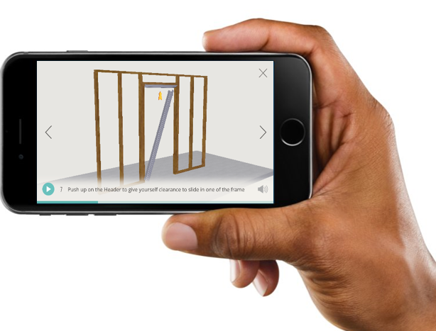 Installation Made Easy with 3D Modeling App – Dave's Door